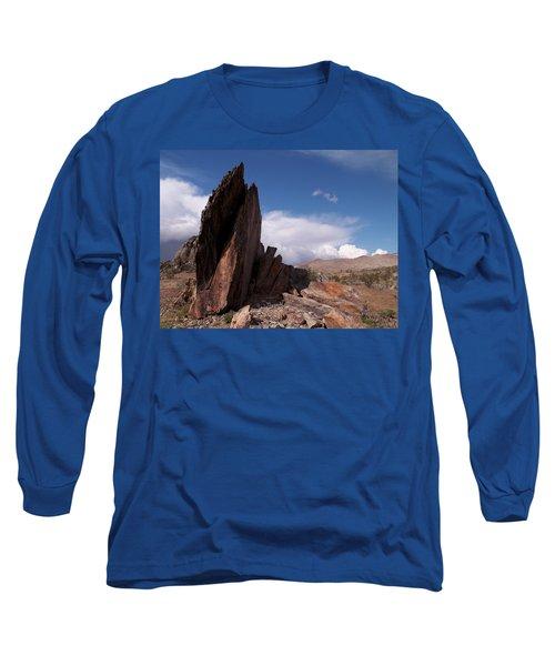 Prayer Rocks - Route 66 Long Sleeve T-Shirt