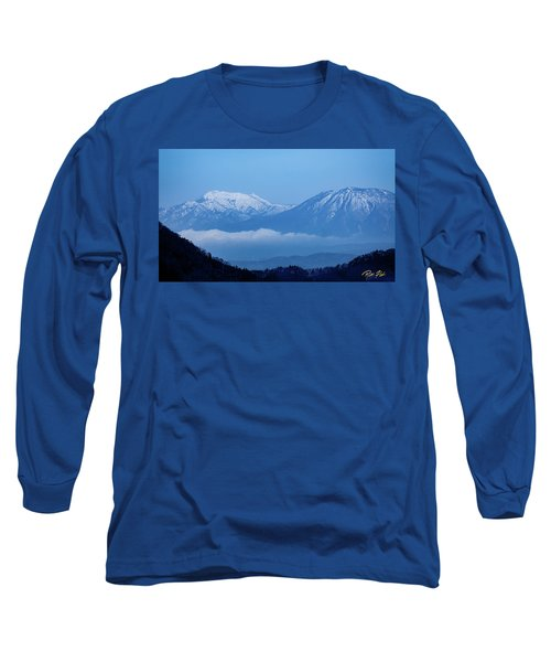 Long Sleeve T-Shirt featuring the photograph Predawn Peaks by Rikk Flohr