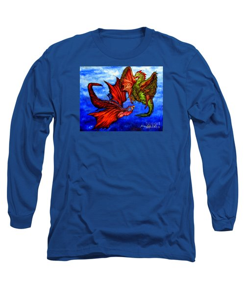 Prehistoric Fighting Fowl Long Sleeve T-Shirt