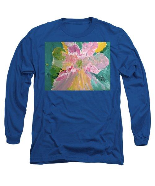 Pretty In Pastels Long Sleeve T-Shirt by Karen Nicholson