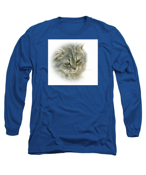 Pretty Kitty Long Sleeve T-Shirt by Debbie Stahre
