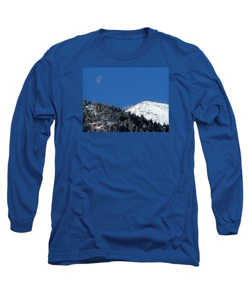 Pristine Winter Morning Long Sleeve T-Shirt