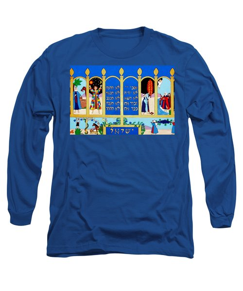 Long Sleeve T-Shirt featuring the painting Promised Land by Stephanie Moore