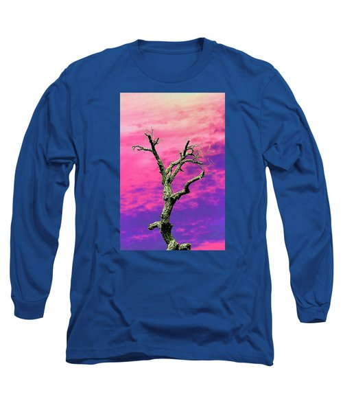 Psychedelic Tree Long Sleeve T-Shirt by Richard Patmore