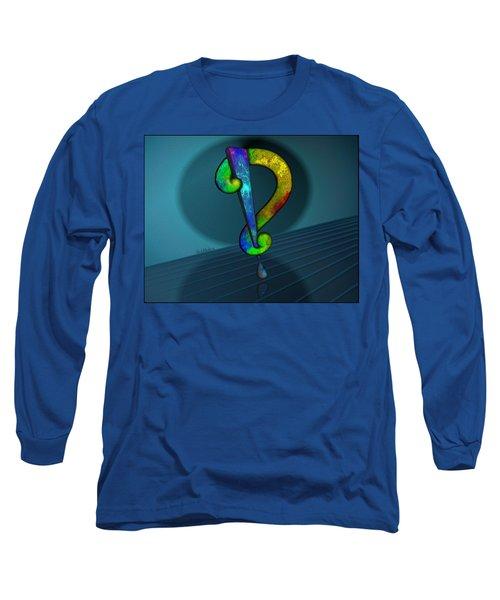 Psychedelic Interrobang Long Sleeve T-Shirt