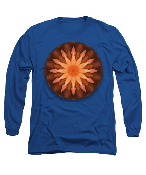 Pumpkin Mandala -  Long Sleeve T-Shirt