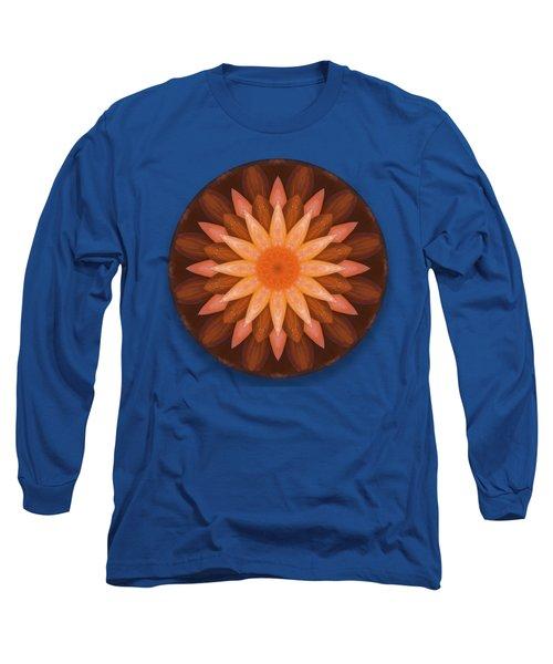 Pumpkin Mandala -  Long Sleeve T-Shirt