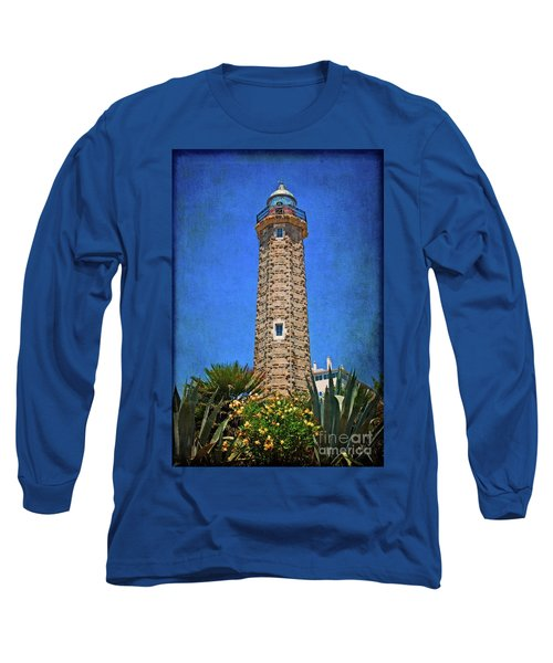 Long Sleeve T-Shirt featuring the photograph Punto Doncela Lighthouse by Mary Machare