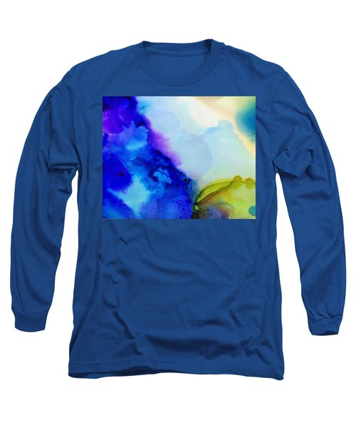 Purple Flow Long Sleeve T-Shirt