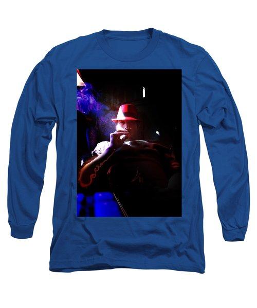 Purple Haze Boss  Long Sleeve T-Shirt