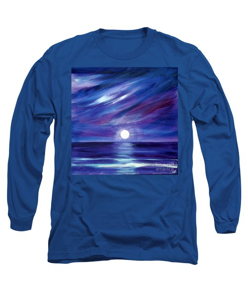 Purple Night Long Sleeve T-Shirt