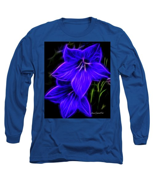 Purple Passion Long Sleeve T-Shirt by Joann Copeland-Paul
