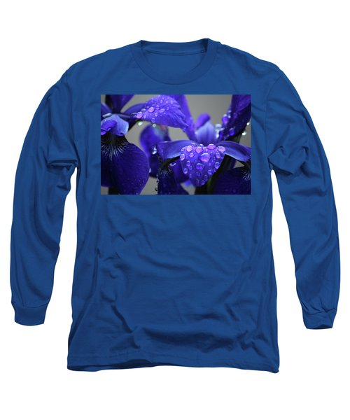 Long Sleeve T-Shirt featuring the photograph Purple Passion by Rowana Ray