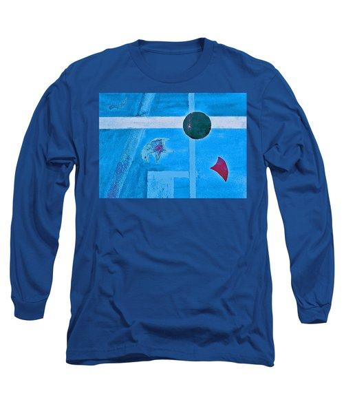 Purposphere Gone Blue Long Sleeve T-Shirt