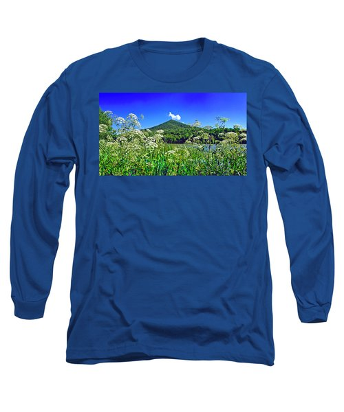 Queen Anne's Lace, Peaks Of Otter  Long Sleeve T-Shirt