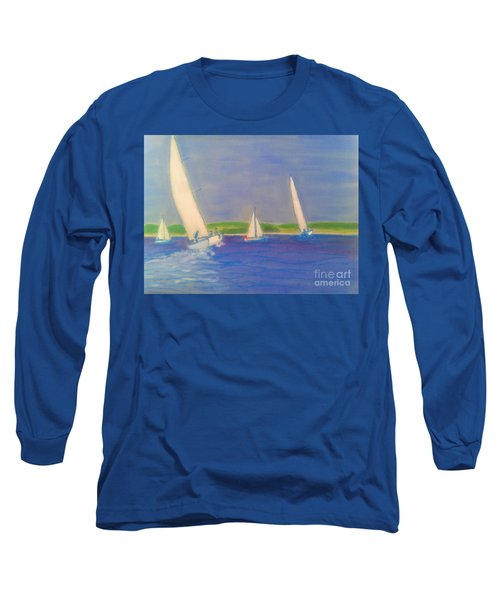 Racing Off Chester Long Sleeve T-Shirt by Rae  Smith