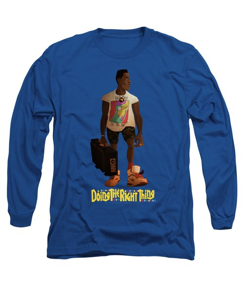 Radio Raheem Long Sleeve T-Shirt by Nelson Dedos Garcia
