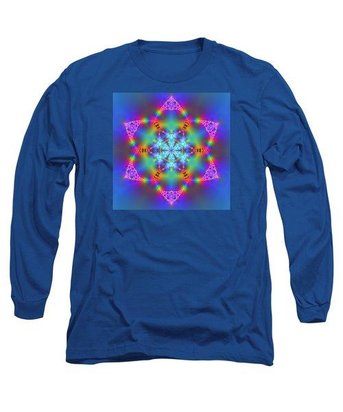 Long Sleeve T-Shirt featuring the digital art Ragamalamandala by Robert Thalmeier