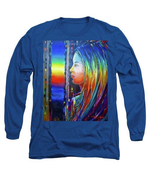 Rainbow Girl 241008 Long Sleeve T-Shirt