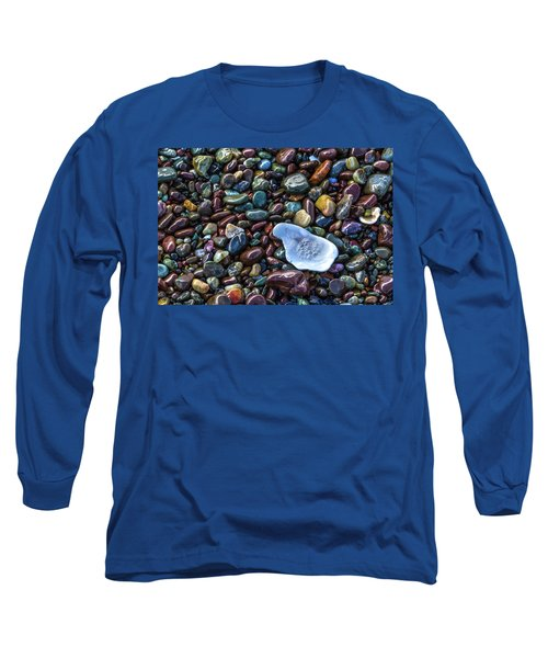 Rainbow Pebbles Long Sleeve T-Shirt