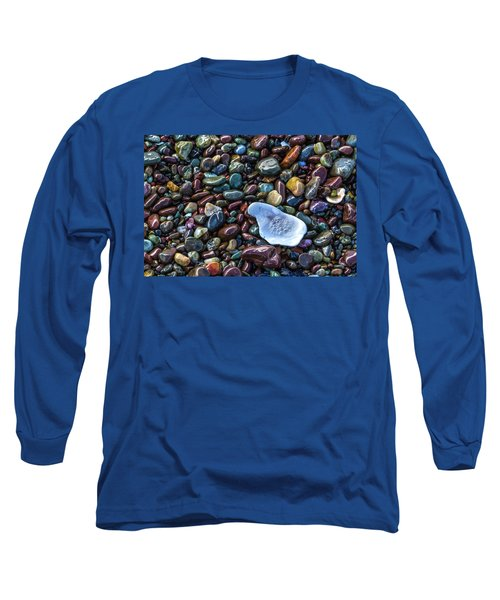 Rainbow Pebbles Long Sleeve T-Shirt