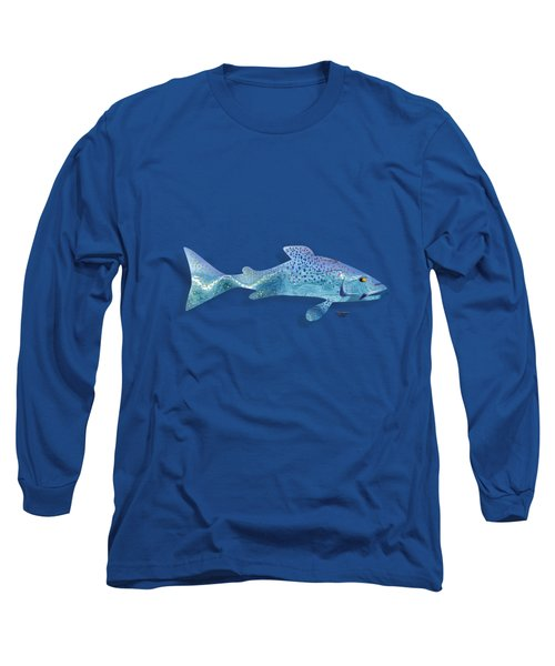 Rainbow Trout Long Sleeve T-Shirt by Mikael Jenei