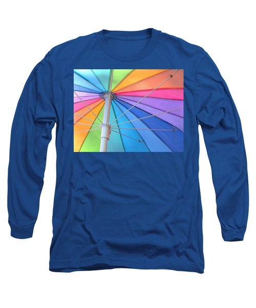 Rainbow Umbrella Long Sleeve T-Shirt