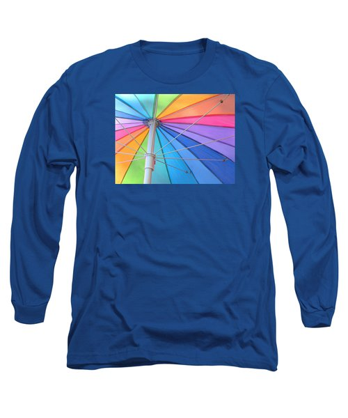 Rainbow Umbrella Long Sleeve T-Shirt