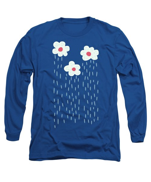 Raining Flowery Clouds Long Sleeve T-Shirt