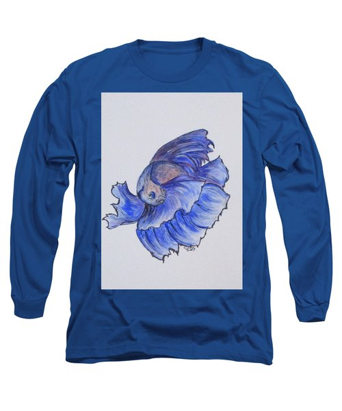 Ralphi, Betta Fish Long Sleeve T-Shirt