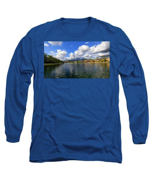 Rancho Santa Margarita Lake Long Sleeve T-Shirt