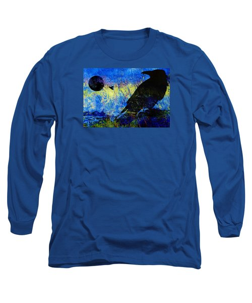 Raven Study 2 Long Sleeve T-Shirt