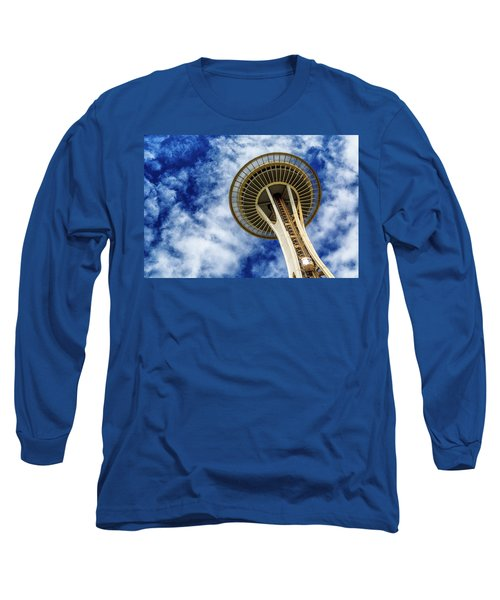 Reach For The Sky - Seattle Space Needle Long Sleeve T-Shirt