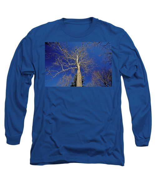 Long Sleeve T-Shirt featuring the photograph Reaching For The Sky by Suzanne Stout