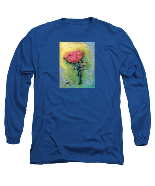 Long Sleeve T-Shirt featuring the mixed media Reborn by Terry Webb Harshman