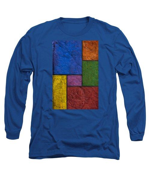 Rectangles Long Sleeve T-Shirt