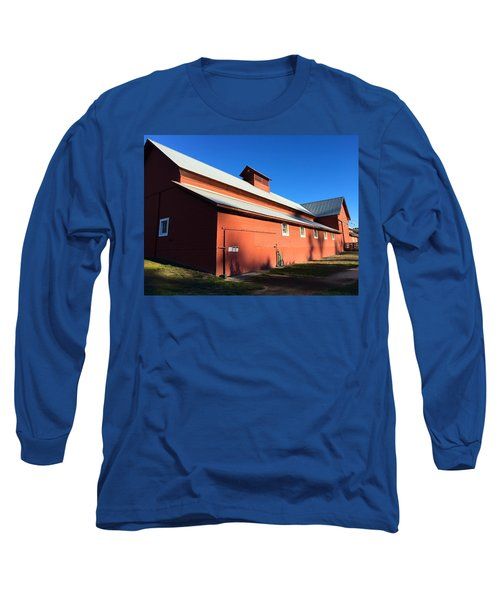 Red Barn, Blue Sky Long Sleeve T-Shirt