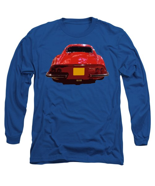 Red Classic Emd Long Sleeve T-Shirt