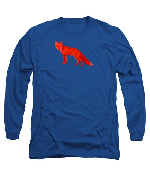 Long Sleeve T-Shirt featuring the photograph Red Fox Forest by Movie Poster Prints