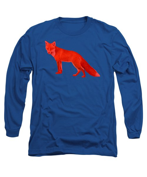 Red Fox Forest Long Sleeve T-Shirt