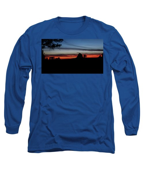 Red Sunset Strip Long Sleeve T-Shirt by Jason Coward
