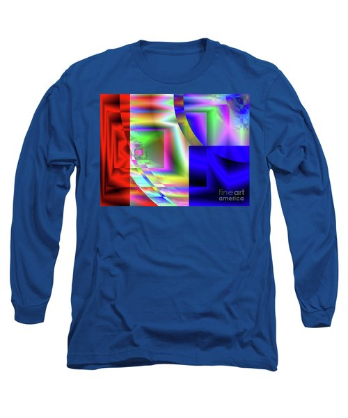 Red White And Blue 1 Long Sleeve T-Shirt