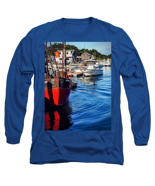 Red White Blue Long Sleeve T-Shirt
