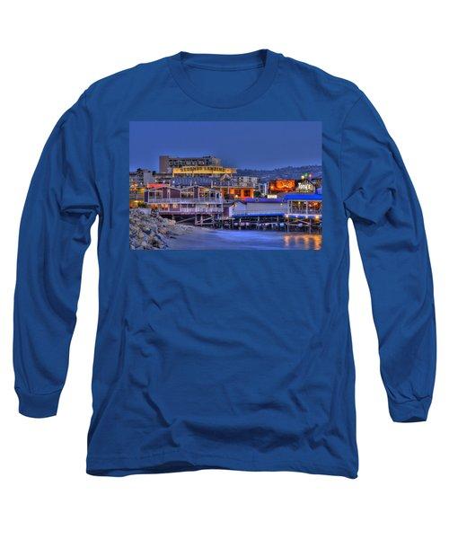 Redondo Landing Long Sleeve T-Shirt by Richard J Cassato