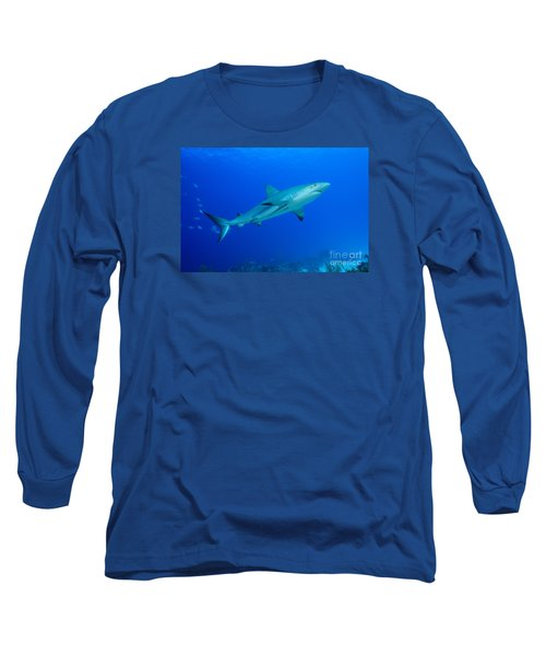 Out Of The Blue Long Sleeve T-Shirt by Aaron Whittemore