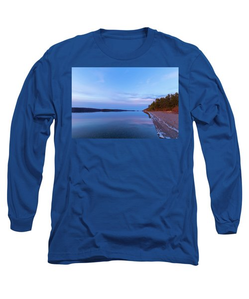 Long Sleeve T-Shirt featuring the photograph Reflecting At The Reservoir by Brian Hale