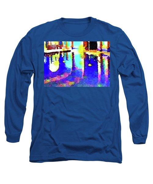 Reflective Pool Hearst Castle Long Sleeve T-Shirt