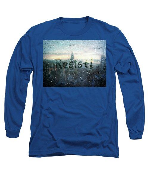 Resistance Foggy Window Long Sleeve T-Shirt