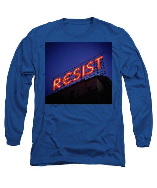 Resistance Neon Lights Long Sleeve T-Shirt