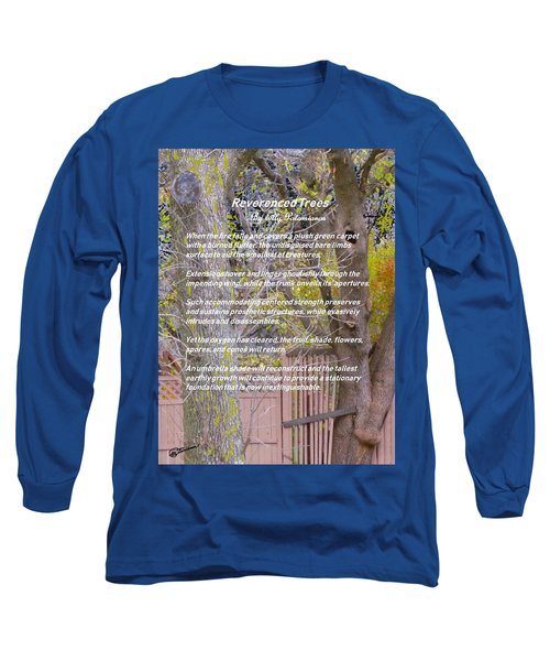 Reverence Of Trees Long Sleeve T-Shirt
